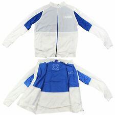USN Men's Lightweight Jacket White Training Workout Gym Running Clothing