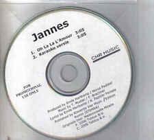 Jannes-Oh La La Lamour Promo cd single