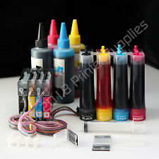 CISS & Extra Set Ink LC61 For Brother MFC J415 J615 J630 DCP 145C 165 165C 185C