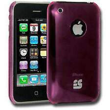 Stylish Slim Snap On Hard Shell Back Case Cover For iPhone 3G 3GS - Pink