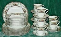 MIKASA CAMBRIDGE L9015  - 34 PIECE DINNERWARE SET PLATES BOWLS CUPS
