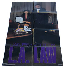 "Costacos Bros. 1988 NBA LA Lakers James Worthy Poster #1495 24"" X 36"""