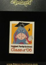 DISNEY AUCTIONS GRADUATION CLASS OF 2006 EEYORE WINNIE THE POOH LE 100 PIN
