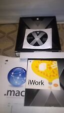 APPLE MAC OSX TIGER RETAIL VERSION 10.4 SOFTWARE WITH X CODE IN BOX