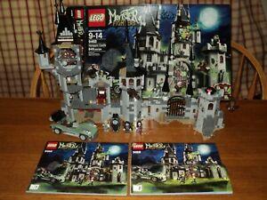 Lego set #9468 Monster Fighters Vampyre Castle Missing Jack McHammer & Sword