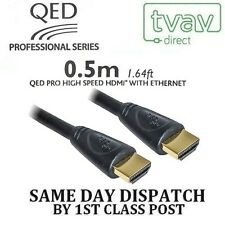 QED Professionelle Serie HDMI Blei Kabel 0.5m M