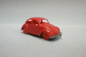 Jouef - voiture VOLKSWAGEN VW Coccinelle Beetle Käker Cox rouge HO 1/87