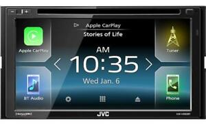 "JVC KW-V830BT 6.8"" Monitor with Android Auto CarPlay CD/DVD SiriusXM"