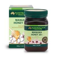 Australian By Nature Bio-active Manuka Honey 20+ MGO 800+ 500G