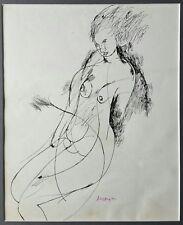 Sebastiano Sanguigni- Opera unica ad inchiostro su carta, anni '80