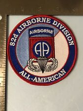 US ARMY 82nd AIRBORNE DIVISION COMMEMORATIVE PATCH