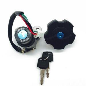 Ignition Switch Fuel Gas Cap Keys Set For Yamaha DT200 DT200R XT600 XT225 Serow