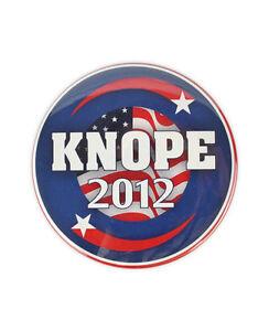 "Lesley Knope Large ""Knope 2012"" Badge! parks and recreation, Amy Poehler, pawnee"