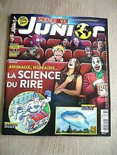 SCIENCE&VIE JUNIOR  N° 384 -  SEPTEMBRE  2021  /  LA  SCIENCE  DU  RIRE
