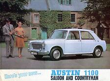 1960s Austin 1100 Saloon/Countryman Sales Catalog