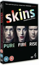 SKINS SERIES 7 DVD BOX SET *NEW* SEASONS