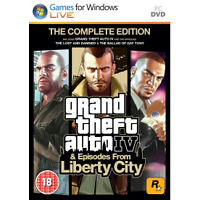 Grand Theft Auto IV 4 GTA Complete Edition Game PC - Brand New!