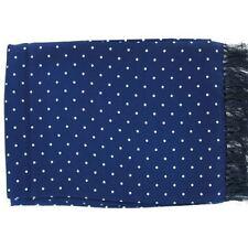 Bufanda de hombre en color principal azul