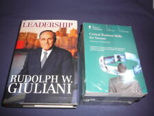 Teaching Co Great Courses CDs  CRITICAL BUSINESS SKILLS for SUCCESS  new + BONUS