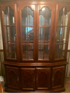 furniture china cabinet used