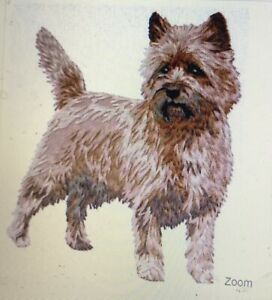 Cairn Terrier TWO Hand Towels, Embroidered, Custom, Personalized