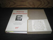 ALBUM MONTHERLANT 1979