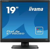 IIYAMA E1980SD-B1 Moniteur 19'' LED 5:4  5ms VGA DVI