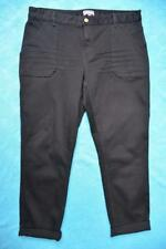 SUSSAN TAPERED LEG Slimming Black Jeans/PANTS Size 16 rrp $79.99 STRETCH. NEW