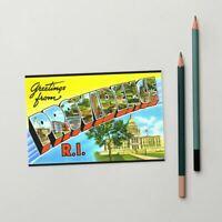 Greetings from Providence Rhode Island Standard Postcard