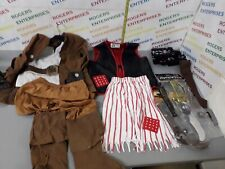 Boys Pirate Costumes & Accessories/Weapons Bundle Job lot age Age 4/5-7
