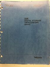 Tektronix 336 Digital Storage Oscilloscope Service Manual P/N 070-4421-00