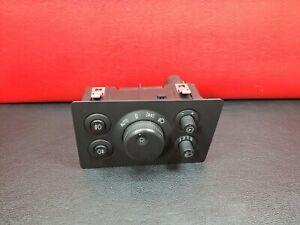 Vauxhall Zafira 2006 Headlight Headlamp Switches 13205869 04061200
