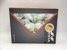 NIVIA CT-3813 HEAVY WEIGHT CRICKET TENNIS BALL - WHITE ( Pack of 12 Balls )