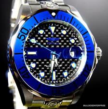 Invicta Grand Diver Police Edition Thin Blue Line Steel Automatic 47mm Watch New