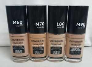 CHOOSE  YOUR TONE COVERGIRL TRUEBLEND MATTE MADE FOUNDATION M60,M70,L80,M90
