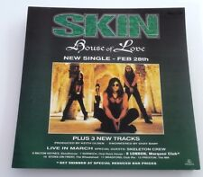 SKIN House Of Love ORIGINAL SHOP PROMO DISPLAY size:12x12 inches