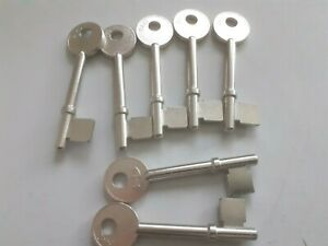 7 x HD B440 UNION MORTICE KEY BLANKS- NEW OLD STOCK      (2061)