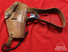 USA Leather Shoulder Holster for 45 cal. Colt with straps (inv12222)