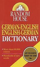Random House German-English English-German Dictionary: Second Edition