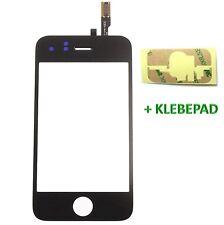 ✅ Touchscreen Glas Digitizer für iPhone 3GS mit Original LVA Flex - SCHWARZ ▀