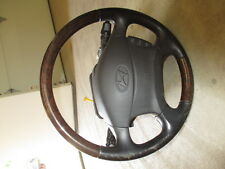 2002 02 HYUNDAI XG350 STEERING COLUMN FLOOR SHIFT COMPLETE with AIR BAG XG350L