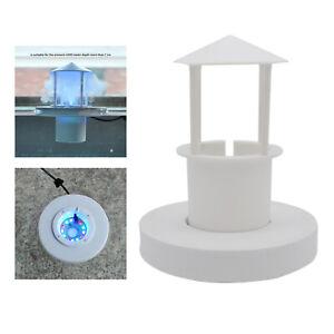 Ultrasonic Floating Mist Fog Maker Float Guard LED Light Landscape Fishtank