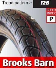 Neumáticos y cámaras de ancho de neumático 125 para motos