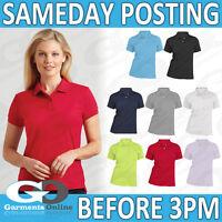Gildan Polo da Donna Easy Care Abbigliamento Lavoro Uniforme per la Scuola 3800L