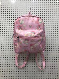 """my melody pink 8.5"""" adult backpack kids satchel bags shoulder bag fashion"""