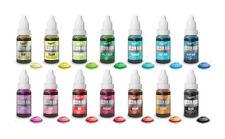 Rainbow Dust Couleur Flo Liquide Colorant Alimentaire /Aérographe Peinture 16ml