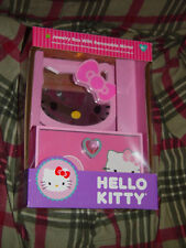 Pink Hello Kitty Jewelry Box W/ Removable Mirror Pink Brand New