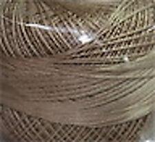 Lizbeth Cordonnet 100% Egyptian Cotton Thread Size 80 Color 690 Lt. Mocha Brown