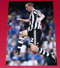 NICKY BUTT NEWCASTLE UTD HAND SIGNED 12X8 PHOTO