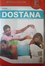 DOSTANA 2 DISC YESHRAJ ORIGINAL BOLLYWOOD DVD SET-Abhishek Bachchan,John Abraham